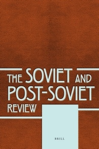 The Soviet and Post-Soviet Review