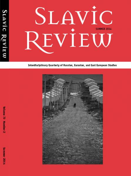Slavic Review summer 2014 cover